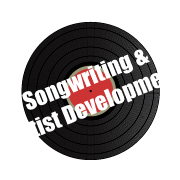 Songwriting and Artist Development spinning vinyl services icon